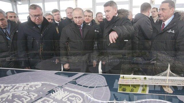 Türk firmasının projesini Putin açtı
