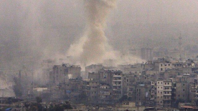 Esed Halep'i yağmalıyor