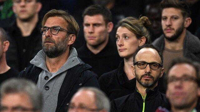 Liverpool Camp Nou'da Barcelona'yı izledi