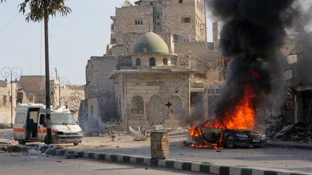 Halepli siviller: Bize dua edin