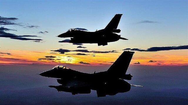Turkish warplanes hit 9 Daesh targets in northern Syria