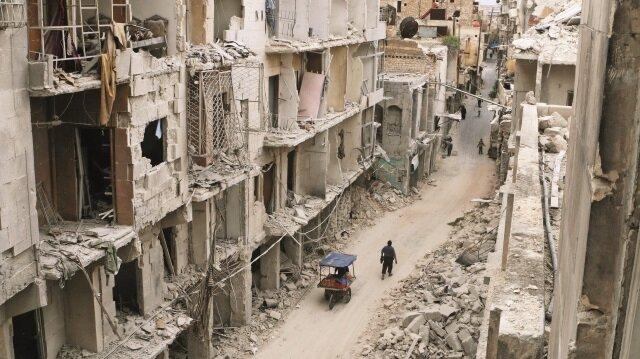 Halep düşüyor