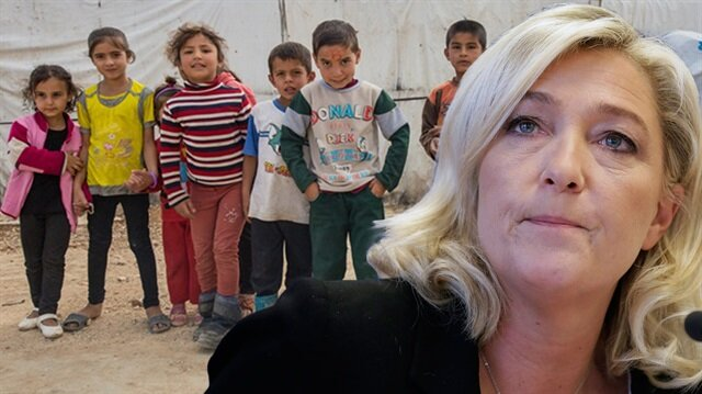 Le Pen'den mülteci çocuklar için insanlık dışı öneri