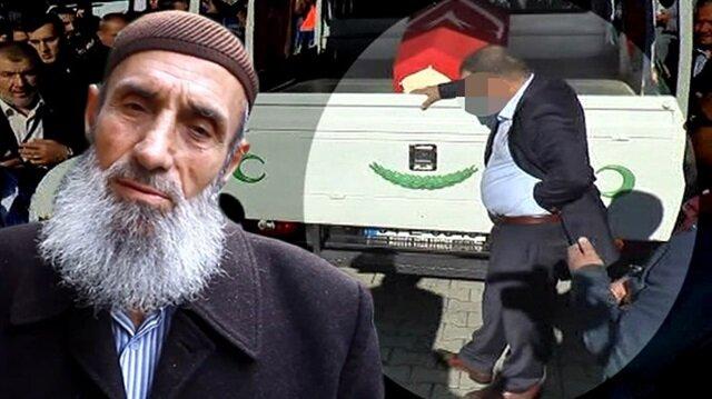 Safitürk'ün babası: O bizi bir daha şehit edip öldürdü