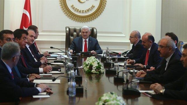 Başbakan EKK kararlarını açıkladı