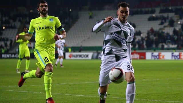 Konyaspor-Gent: 0-1