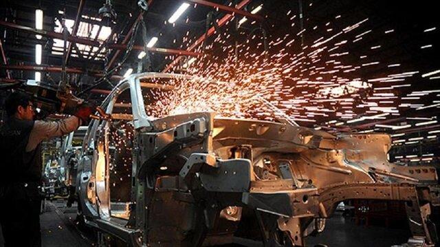 Sanayi üretimi endeksi arttı