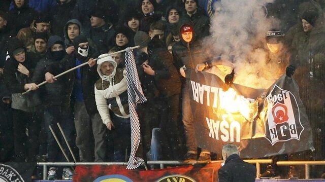 Beşiktaşlılara intikam için saldırmışlar!