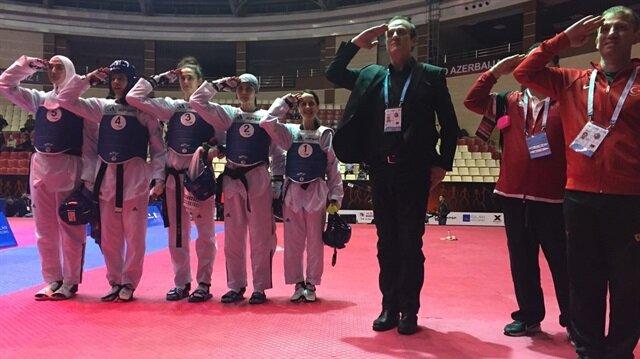 Dünya Tekvando Şampiyonasında yarı finaldeyiz
