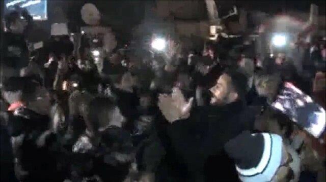 Beşşar Esed yandaşları'zafer' kutlaması yaptı
