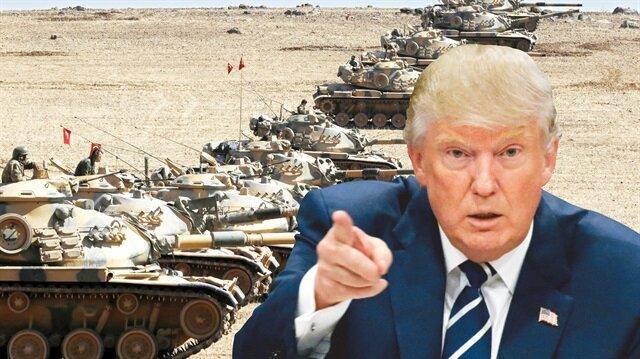 Trump: Suriye'de güvenli alanlar oluşturacağız