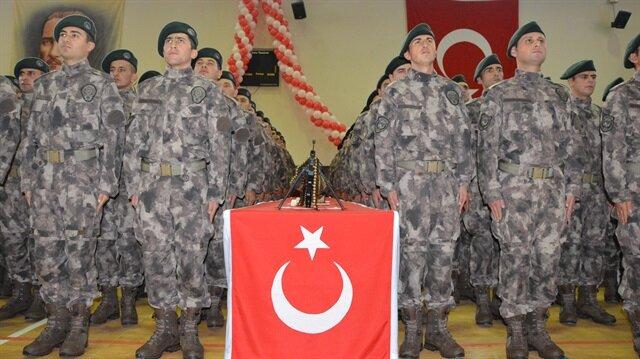 Polis adayları için mezuniyet töreni düzenlendi