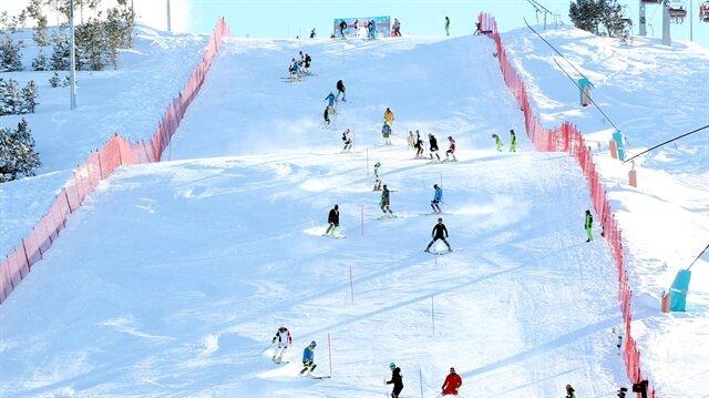 FIS Anatolian Cup Erzurum'da başladı