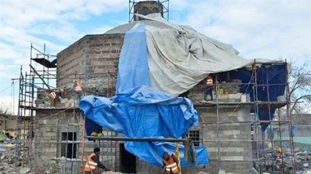 Sur'daki 14 tarihi eser restore ediliyor