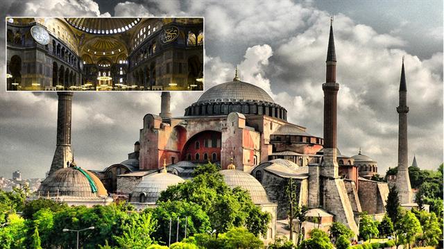 Tapınakçıların Ayasofya'daki gizli simgeleri çözüldü