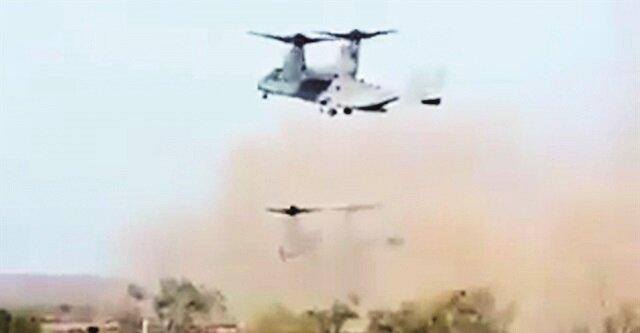 ABD'nin Kuzey Suriye'deki Rümeylan ve Kobani'de hava üsleri bulunuyor. Yoğunlukla bu üsleri kullanan Pentagon, bölgede zaman zaman terör örgütüne kargo uçaklarıyla havadan cephane paketi atıyor.