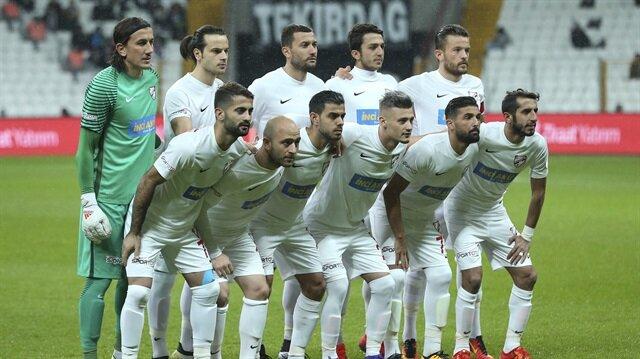 Boluspor 9 futbolcuyu gönderdi