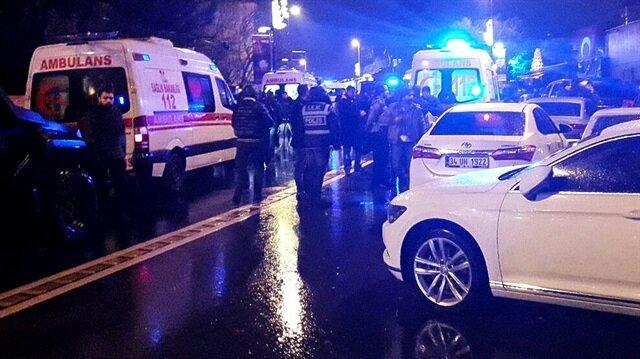 Ortaköy'de gece kulübüne silahlı saldırı: 39 kişi hayatını kaybetti