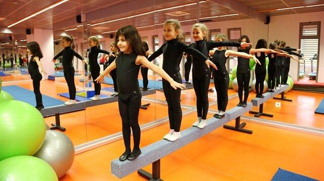 Başakşehir'den çocuklara ücretsiz jimnastik dersleri