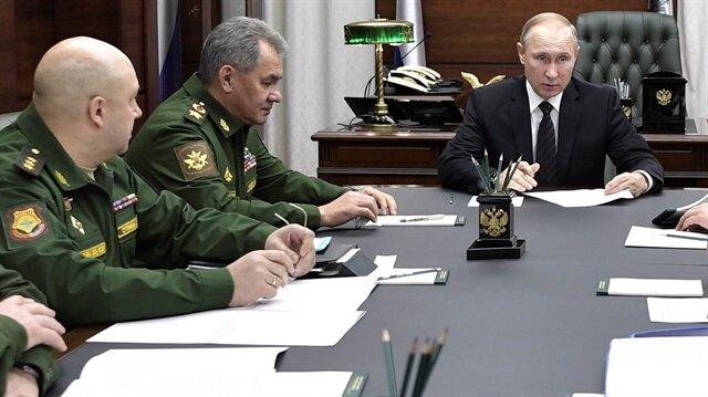 Rusya Devlet Başkanı Vladimir Putin, Rus askeri yetkililere Suriye'deki askeri varlığın azaltılması için talimat vermişti.