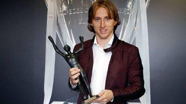 Hırvatistan'da yılın futbolcusu Modric