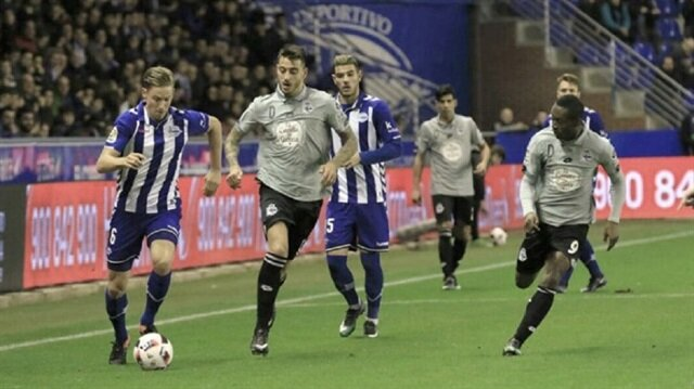 Emre Çolaklı Deportivo kupadan elendi