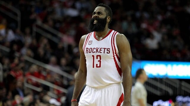 James Harden'dan tarihi performans