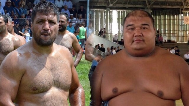 Recep Kara sumo şampiyonu ile güreşecek
