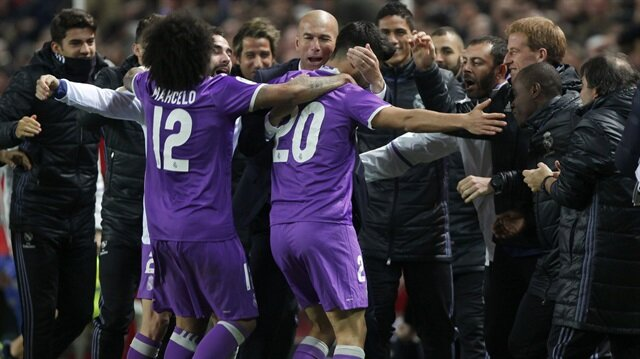 Real Madrid son dakika golüyle tarihe geçti