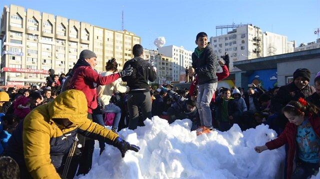 Adana'da kar eğlencesi! 5 günlük Adana hava durumu