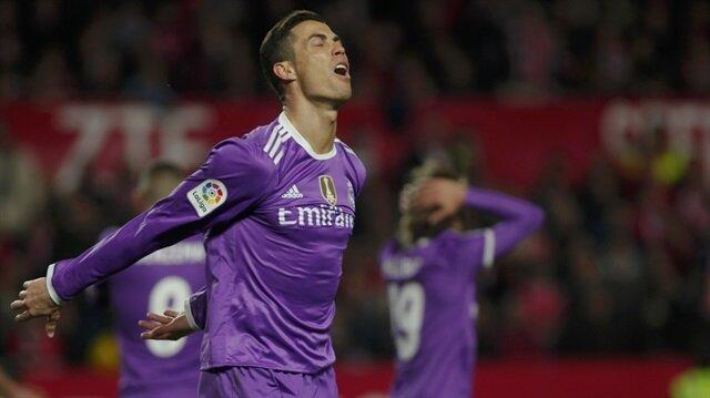 Real Madrid'in serisine Sevilla son verdi