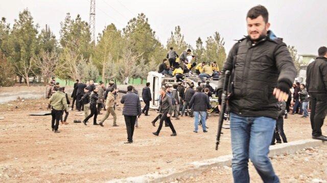 Sur'da polise bombalı tuzak