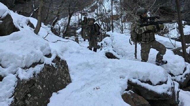 Tunceli'de eksi 15 derecede büyük operasyon