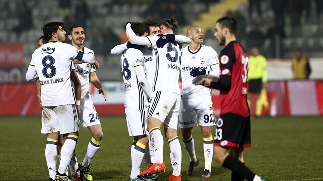 Gençlerbirliği-Fenerbahçe: 2-2