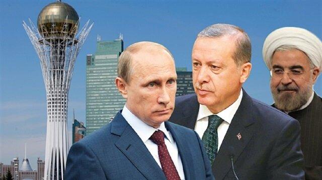 Astana'daki Suriye toplantısı için hazırlıklar tamam