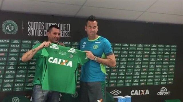 Artur Moraes Chapecoense'de