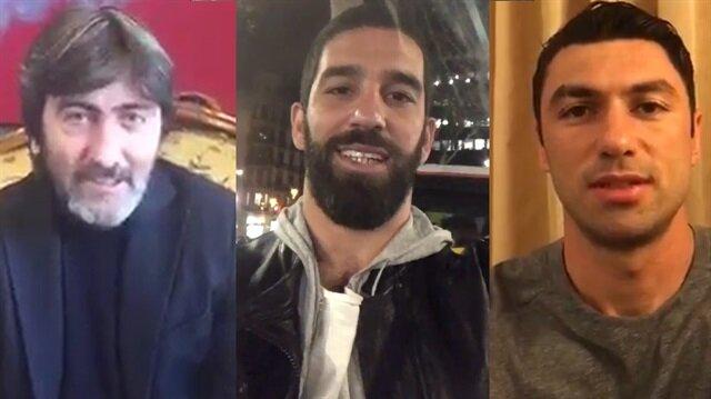 Ünlülerden 'Güçlü Türkiye için evet' kampanyası
