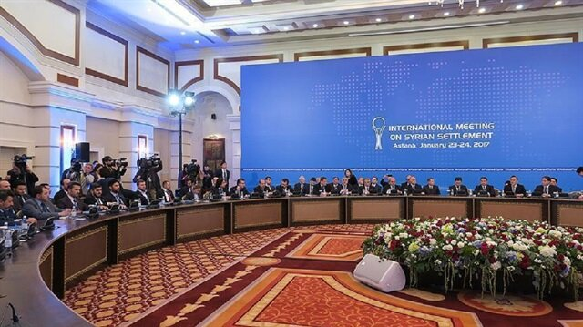 Second day of Syria peace talks begins in Astana