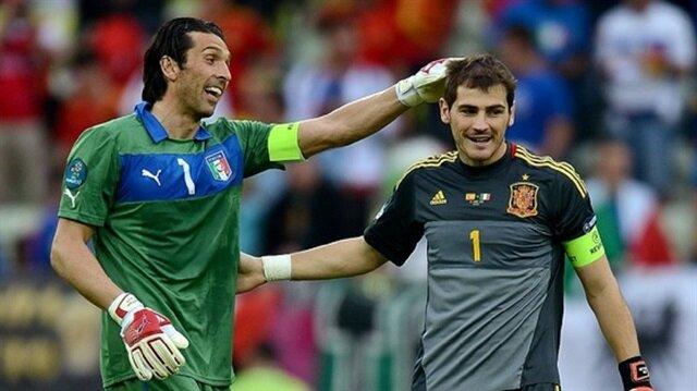 Buffon'dan Casillas'a: Biz en iyiyiz