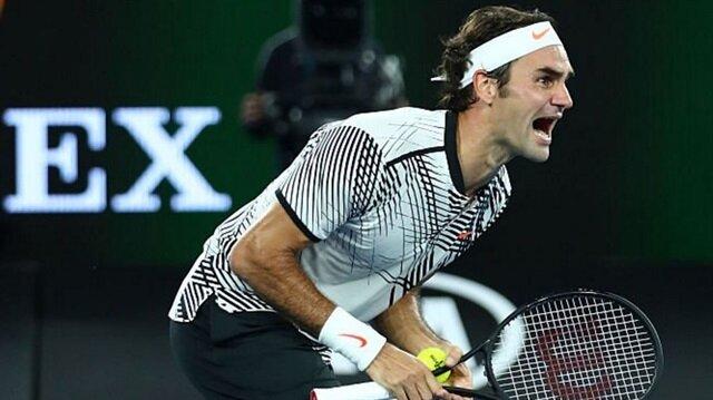 Federer, 18. Grand Slam şampiyonluğunu elde etti.