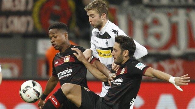 Hakan'ın asisti Leverkusen'e yetmedi