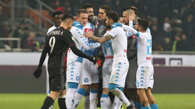 Napoli Bologna'yı 7 golle geçti
