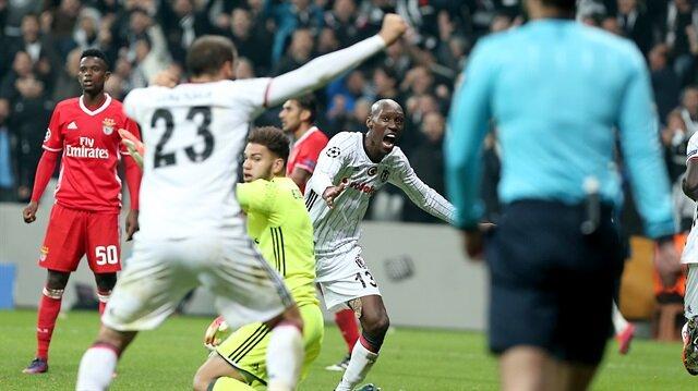 Beşiktaş-Benfica maçı tarihe geçti
