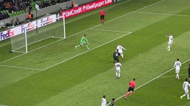 Fenerbahçe'nin yediği gol tarihe geçti