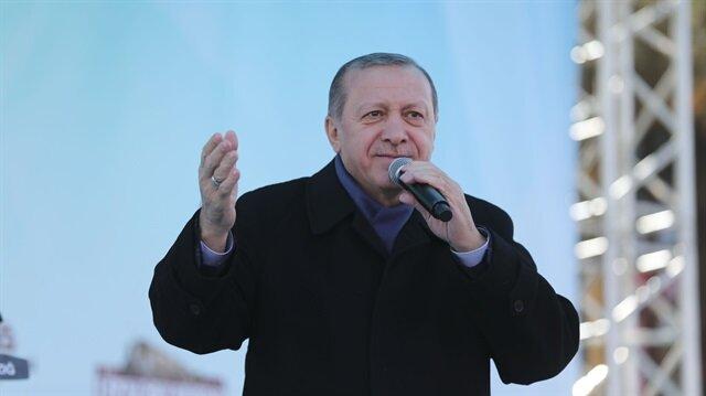 Erdoğan'dan Elazığ'a stat müjdesi
