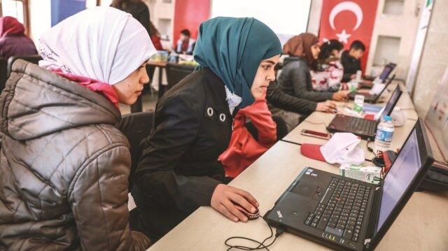 'Yarını kodlayanlar' projesi kapsamında, Şubat-Mayıs aylarında Şanlıurfa'da 250 Suriyeli çocuğa kodlama eğitimleri verilecek.