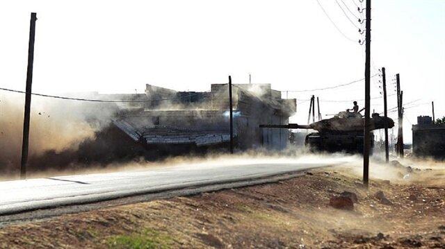 Fırat Kalkanı'nda ÖSO Bab'da ilerliyor