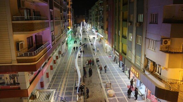 Cizre'nin Sanayi Caddesi 'sevgi' caddesine dönüştü