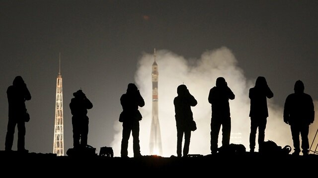 Russian space craft lifts off for international space station