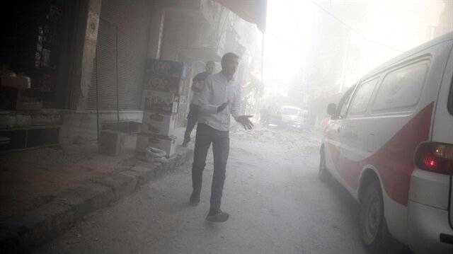Regime shelling kills at least 20 in Damascus: Source